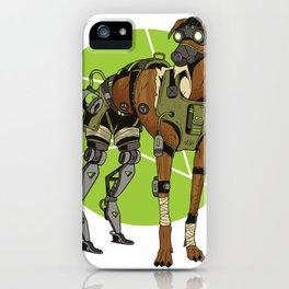 Mech Dog iPhone Case