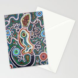 GEKO AT THE WATERHOLE  Stationery Cards