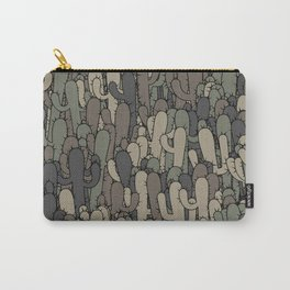 Camouflage cactuses Carry-All Pouch