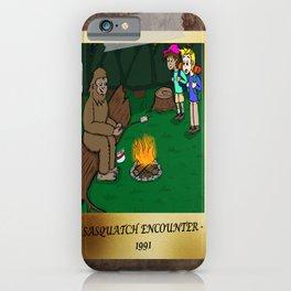 Sasquatch Encounter iPhone Case