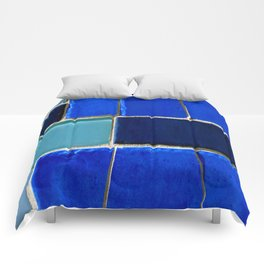 Blue Hues Comforters