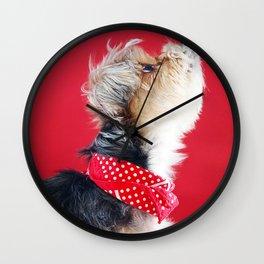 Super Pets Series 1 - Moose Howl Wall Clock