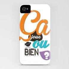 Ca joue ou bien ? Slim Case iPhone (4, 4s)