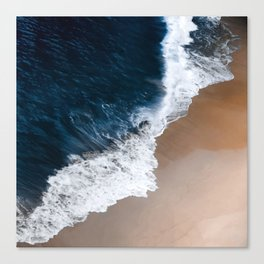 Even the biggest waves... Canvas Print