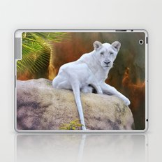 Rare White Lion  Laptop & iPad Skin