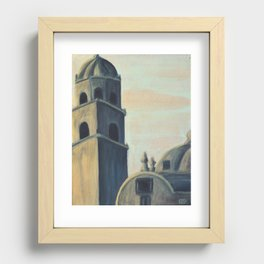Under Painting Study Recessed Framed Print