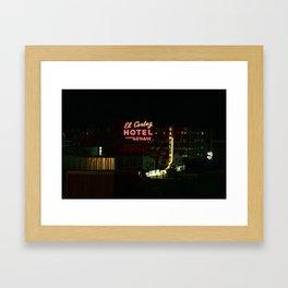 El Cortez Hotel Framed Art Print