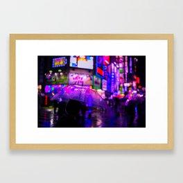Kabukicho Blur Framed Art Print