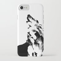 howl iPhone & iPod Cases featuring Howl by .Esz