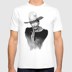 Zombie Wayne. Mens Fitted Tee 2X-LARGE White