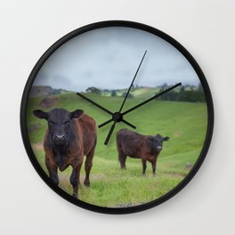 My Pasture, My Rules Wall Clock