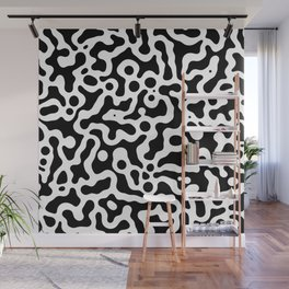 Liquid spot camouflage pattern_01 Wall Mural