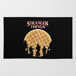 stranger thing waffle Rug
