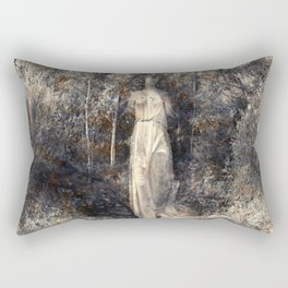 In the arms of Nature Rectangular Pillow