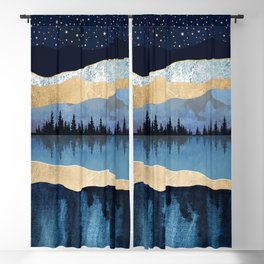 Midnight Lake Blackout Curtain