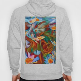 Psychedelic Daises Hoody