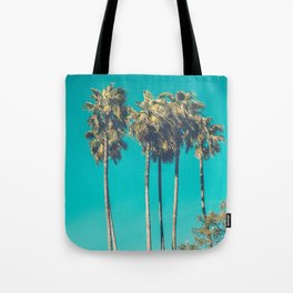 A Few Turquoise Palms Tote Bag
