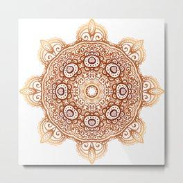 Mandala Sutra Metal Print