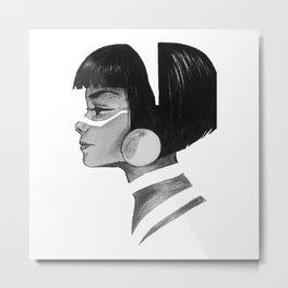 Bohemian Metal Print