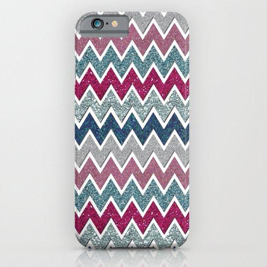 glitter chevron iPhone & iPod Case