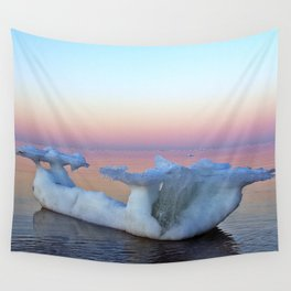 Viking Iceship on the Sea Wall Tapestry