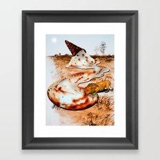 Dessert from Above Framed Art Print