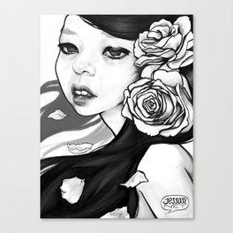 Sad Rose Canvas Print