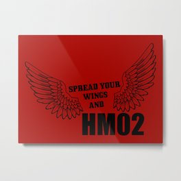 Spread your wings and HM02 Metal Print