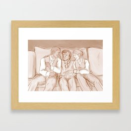 Good Mornin' to You Framed Art Print