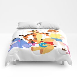 Winnie the pooh characters Comforters