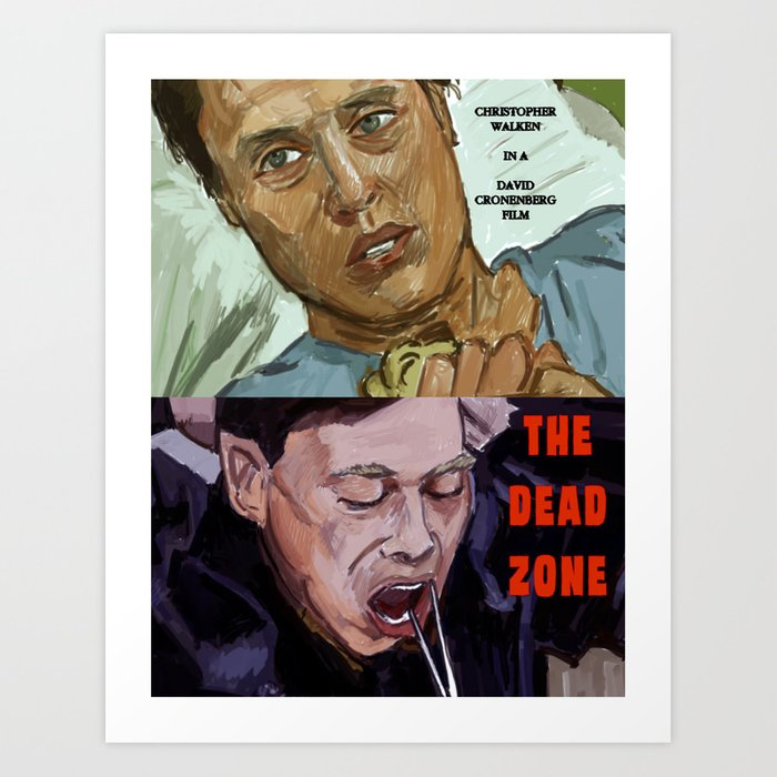 The Dead Zone Art Print by adrockhoward