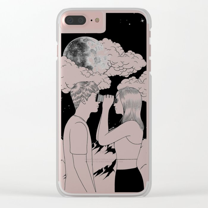 Exploring you Clear iPhone Case
