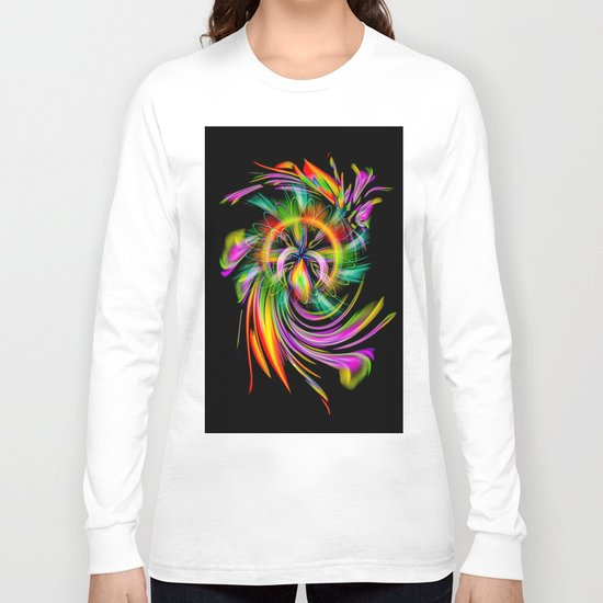 Abstract Perfection 40 Long Sleeve T-shirt