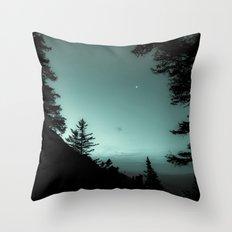 Moonlight Poem Throw Pillow