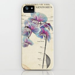 Anatomy Of A Viper Orchid iPhone Case