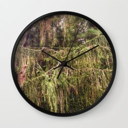 Woolly Spruce Wall Clock