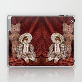 Memories of Childhood Teddy Bear and Doll Laptop & iPad Skin