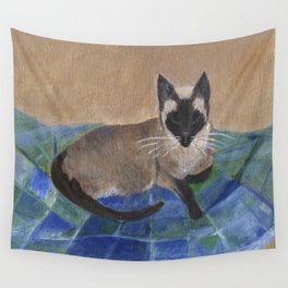 Siamese Napping Wall Tapestry