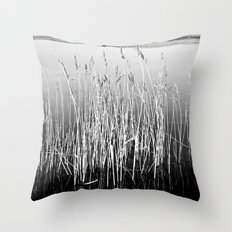 Water Reeds (2) Throw Pillow
