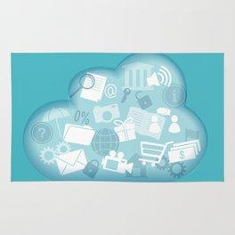 cloud technology Rug