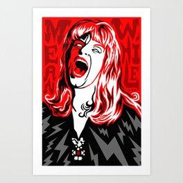 """""""Meanwhile."""" -- Laura Palmer Art Print"""