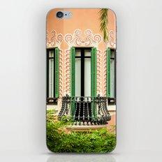 3 green windows iPhone & iPod Skin