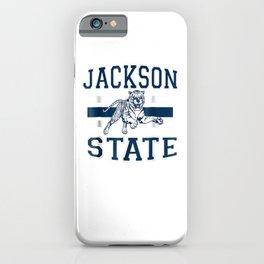 Jackson 1877 State University T shirt iPhone Case