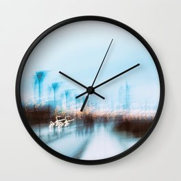 Malmo In Motion 4 Wall Clock
