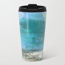 ROCK STUDY IN BLUES Travel Mug