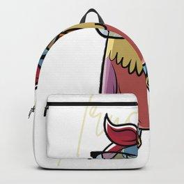 Trust me I'm a nerd - owl motif nerd Backpack