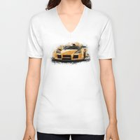 apollo V-neck T-shirts featuring Apollo Gumpert by an.artwrok