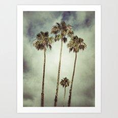 Tropic Storm Art Print
