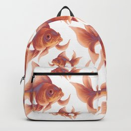 Gold Fishes Backpack