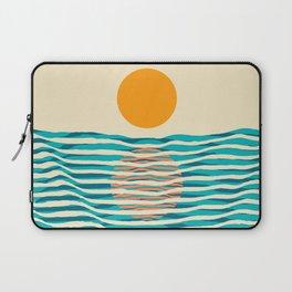 Ocean current Laptop Sleeve